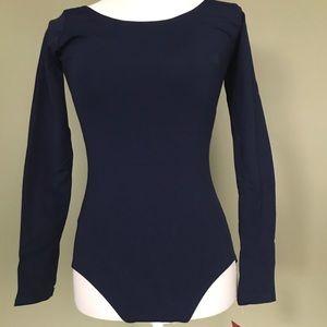 Capezio Long Sleeved Leotard/Bodysuit